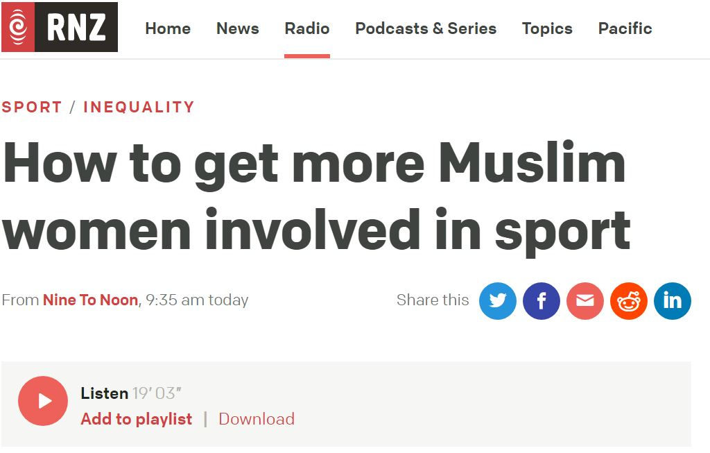 How to get more Muslim women involved in sport